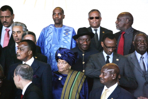 AU SUMMIT, GOODLUCK WITH SOME FRICAN LEADERS