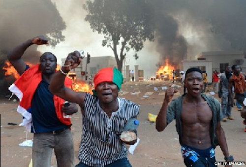 burkinabe protests