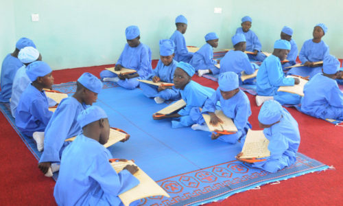 PIC.14.  PUPIL OF  ALMAJIRI  TSANGAYA MODEL PRIMARY SCHOOL,  DURING THE INAUGURATION OF THE SCHOOL  IN BAUCHI ON SATURDAY   (2/11/13).