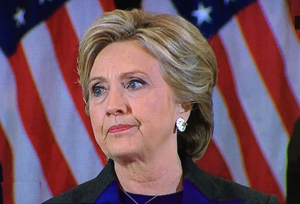 an analysis of the brilliant concession speech of hilary clinton Parsing the meaning of the color purple  hillary clinton made her concession speech in new york this morning as has become her custom.