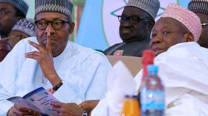 Image result for Why Ganduje Can't Be Prosecuted– Buhari